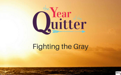 2017: The Year I Quit Fighting the Gray