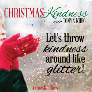 kindness like glitter