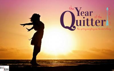 2017: The Year I Quit Standing in My Own Way